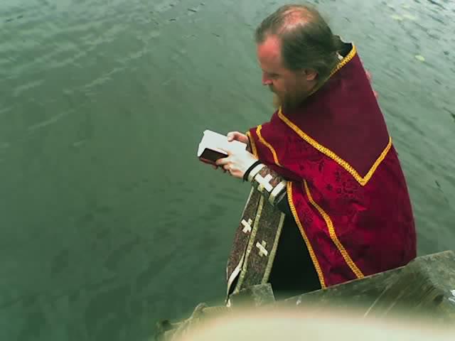 Крещение в храме святой Елисаветы в Петербурге